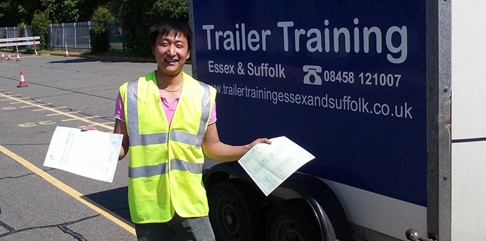 B+E Licence Trailer Training Course